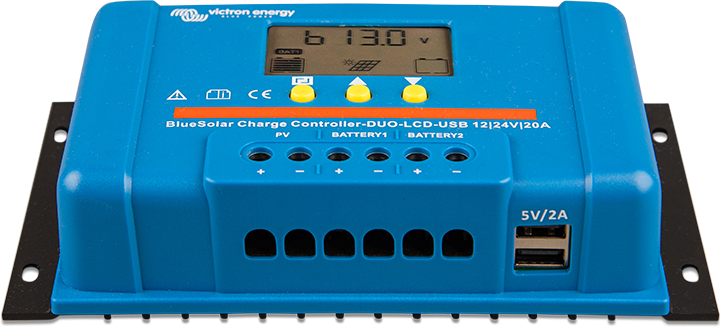 BlueSolar PWM Charge Controller (DUO) LCD&USB